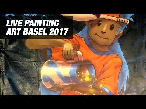 Live Painting Art Basel 2017
