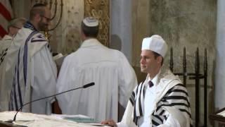 Cantor Azi Schwartz - Bar'khu - Erev Rosh Hashanah 2015