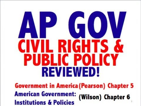 AP GOV Explained: Government in America Chapter 5