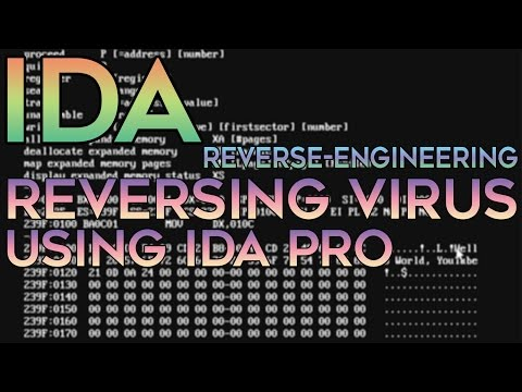 Reverse Engineering — Decompiling A Virus To C Source Code (IDA Pro)