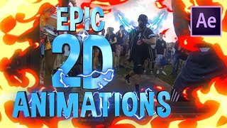 How to add EPIC 2D Animations to your Edits!