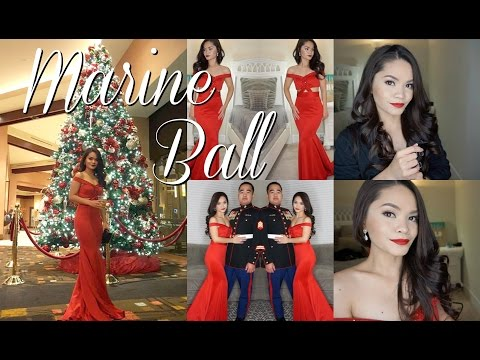 Get Ready with Me : Marine Ball 2016 (w/ snippet vlog at Pala Casino Spa and Resort)
