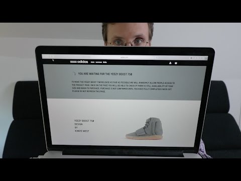 Me Trying to Buy the Yeezy Boost 750 on adidas.com