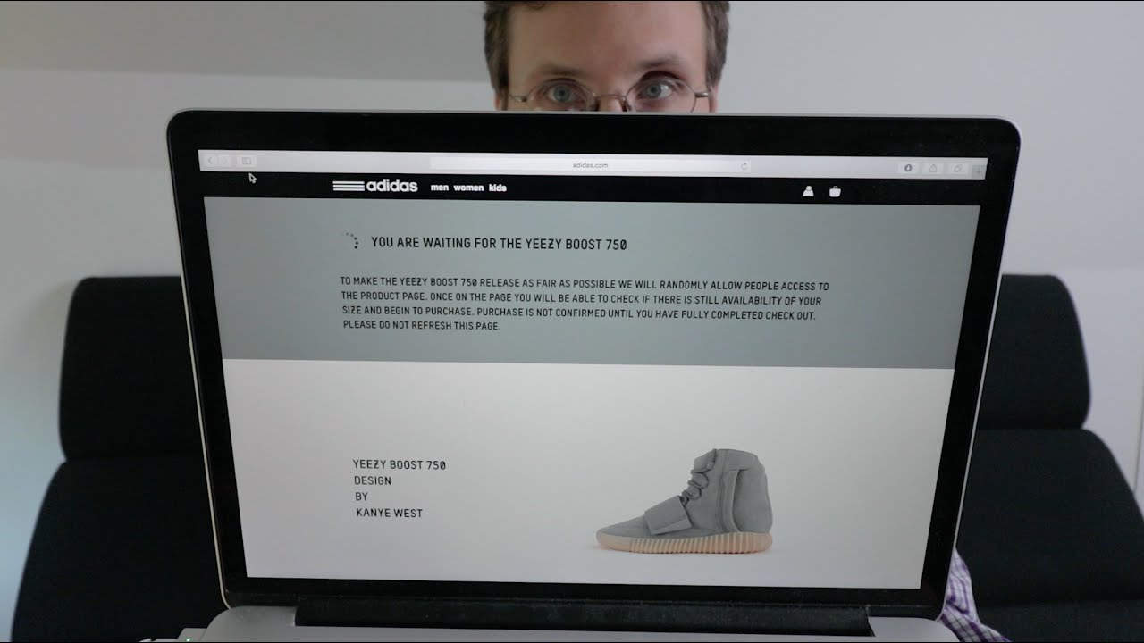 adidas online queue