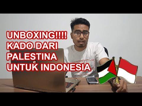 VLOG #4 | UNBOXING!!! | KADO DARI PALESTINA UNTUK INDONESIA Bertepatan HUT RI KE-74