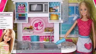 Barbie Doll And Kitchen Furniture Set / Barbie Kuchnia Z Lalką - Megadyskont.pl