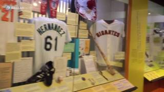 Curator John Odell talks about the Viva Baseball exhibit at the Hall of Fame museum