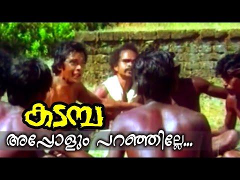 Appolum Paranjille...   Kadamba Malayalam Movie Song