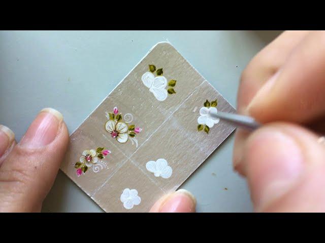 Unhas Decoradas Com Flores 2020 Passo A Passo Fotos