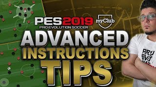 PES 2019 Advanced Instructions TIPS.