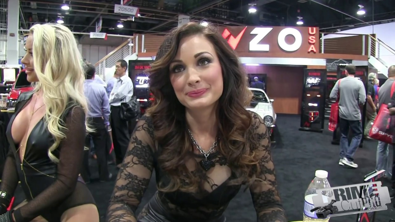 Highlights from SEMA Auto Show  Cars  Hot Girls  YouTube