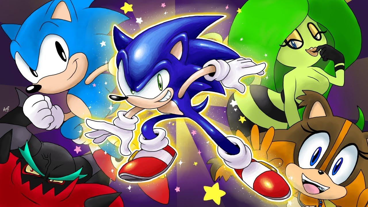 Sonic Meets... - Season 1 (Sonic Animation Parody Compilation)