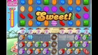 Candy Crush Saga Level 334, 3 Stars, No Boosters, No Cheats