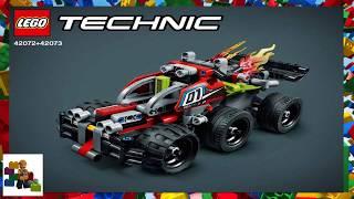 Інструкції Lego - Технік - 42072 - вжик! + 42073 - Баш!