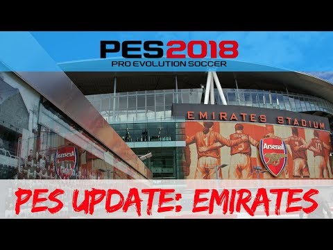 PES 2018: The Emirates Stadium( PES 2018 update )