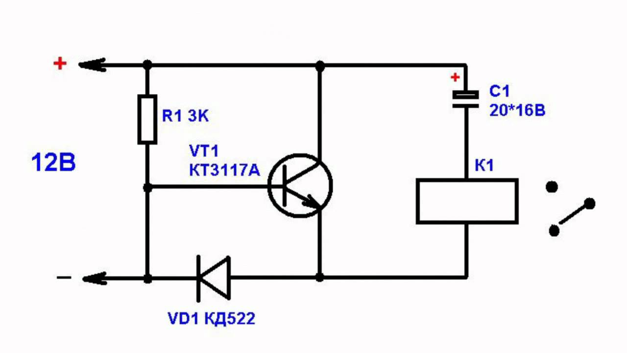 Схемы простые термореле