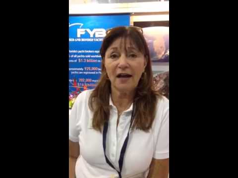 Yachting Pages advertiser testimonial from the Fort Lauderdale International Boat Show 2014