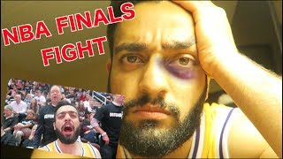 GOT IN A FIGHT AT NBA FINALS GAME! *Wore Kobe Jersey in Cleveland*