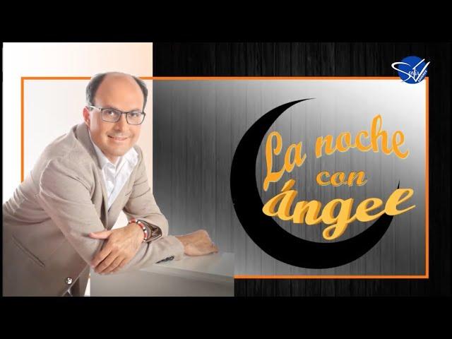 LA NOCHE CON ÁNGEL - Juanjo Narbón y Álvaro Murillo bailarín, saludos navideños