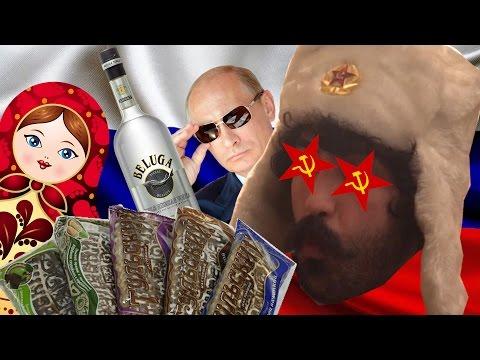 GORDURAS RUSAS - probando comida Rusa