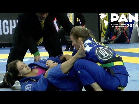 Mackenzie Dern VS Karen Antunes / Pan Championship 2016