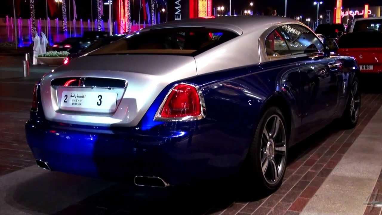 Rolls Royce Ghost >> New Dark Blue Rolls Royce Wraith - YouTube