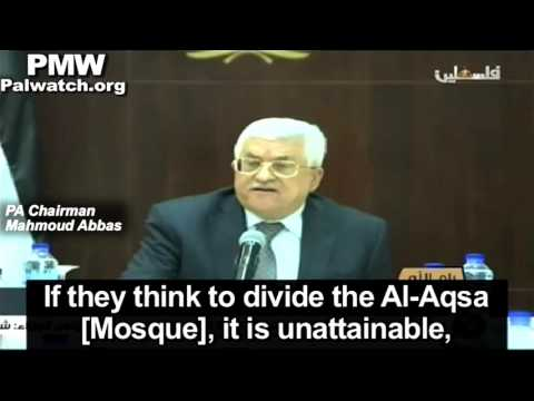"""After Palestinians murder 4 Israelis Abbas says """"the Palestinian side did not attack"""""""
