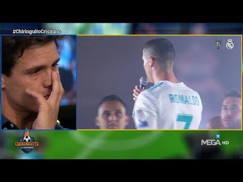 """Las L�GRIMAS de Edu Aguirre al ver los C�NTICOS de """"Cristiano, qu�date"""""""