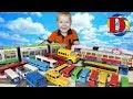 Игрушки машинки для детей Пассажирский транспорт Мультфильмы про машинки Трамвай Автобус Поезд метро mp3