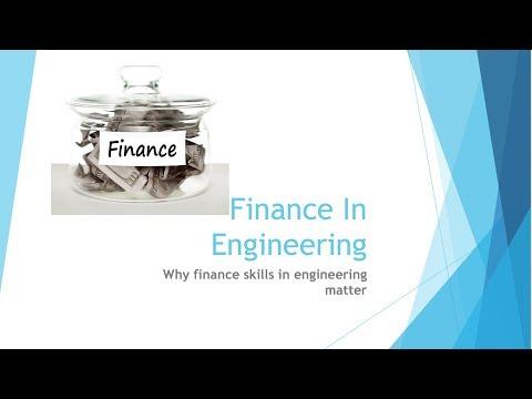 Beginning Engineers Finance in Engineering