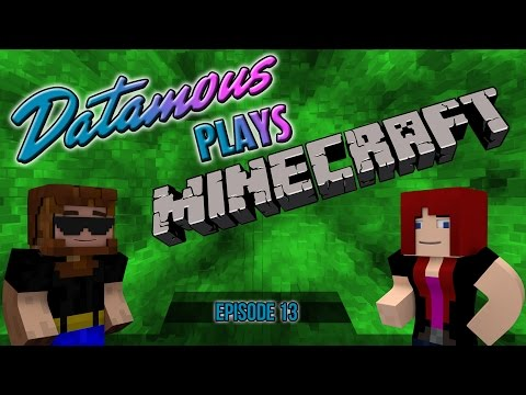 Datamous Plays - Minecraft 1.9 Ep 13 - Pink or Blue?