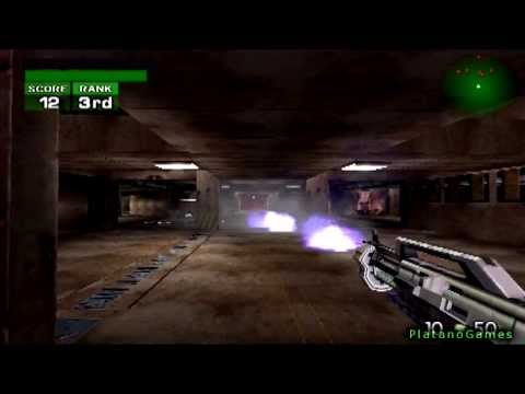 Timesplitters - Multiplayer Deathmatch - Sample Map - HD