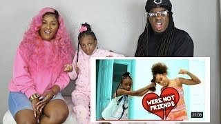 Reacting To YaYa and Ilani- WERE NOT FRIENDS AN...