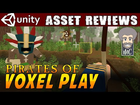 Unity Asset Reviews - Pirates of Voxel Play from Kronnect