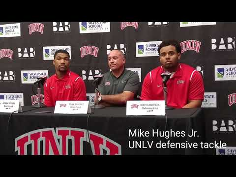UNLV's Mike Hughes Jr. on the Fremont Cannon