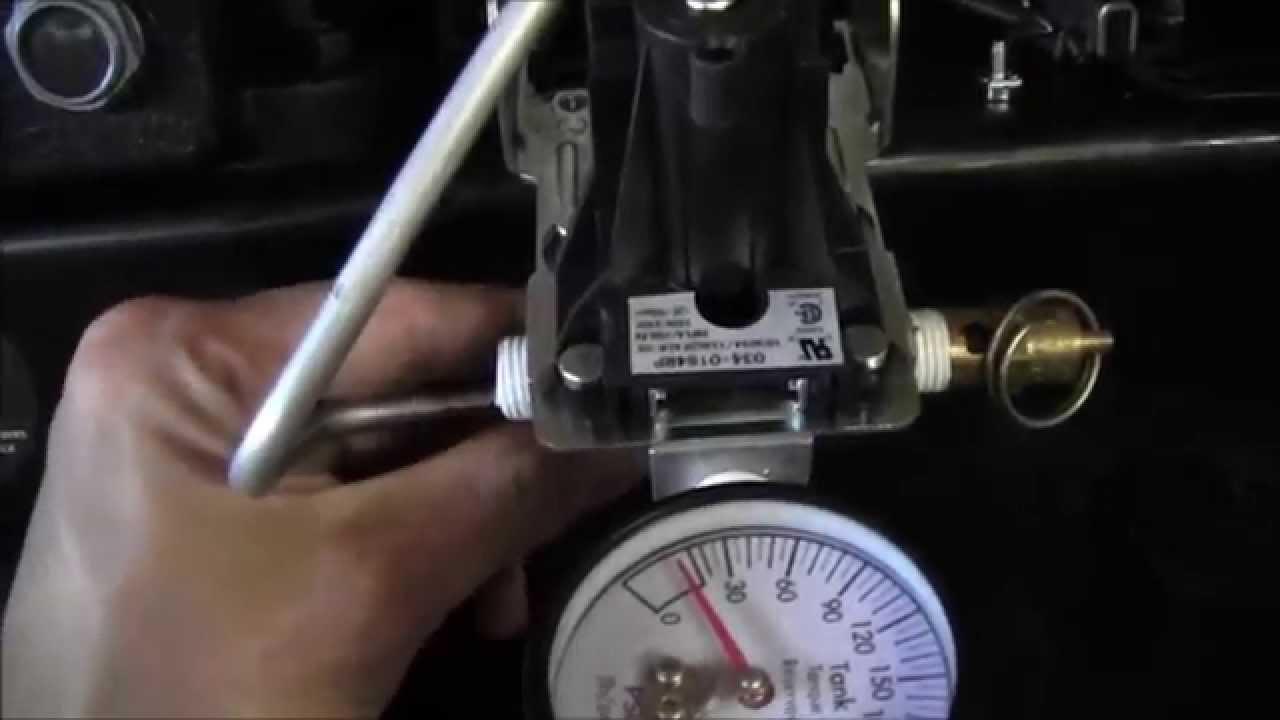 Husky 60 Gallon Air Compressor Pressure Switch Repair Youtube On Off Rocker Wiring Diagram