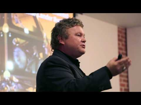 Design Night: Found in Space, talk by Dr. Bob Richards