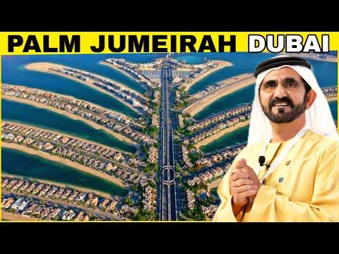 Palm Jumeirah Island Dubai | how palm Jumeirah was made | Dubai का सबसे बडा Man-Made Island |