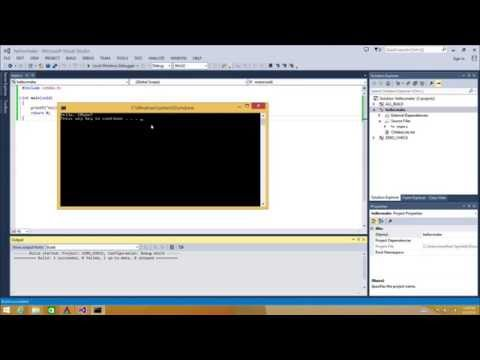Hello, CMake with Visual Studio