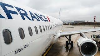 TRIP REPORT   Air France   Airbus A321   Paris - Munich   Economy Class