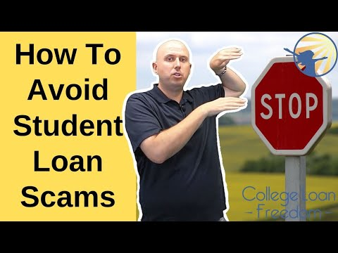 how-to-avoid-student-loan-scams-|-college-loan-freedom-|-larry-morrison