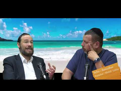 Sefer Bamidbar : PARACHAT SHELAH' LEKHA (37) avec le duo Rav Brand et Fabrice