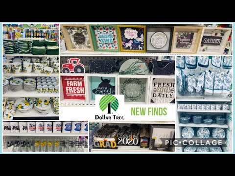 Dollar Tree What's New? Dollar Tree 🌳 Shop With Me May 15, 2020. Amazing New Finds/farmhouse Decor