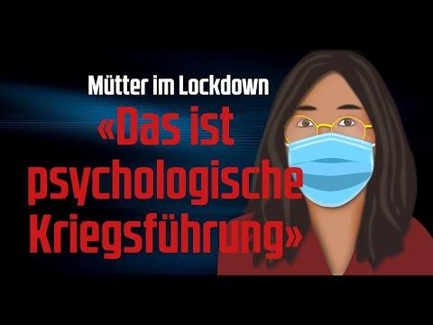 """Mütter im Lockdown: """"Das ist psychologische Kriegsführung"""""""