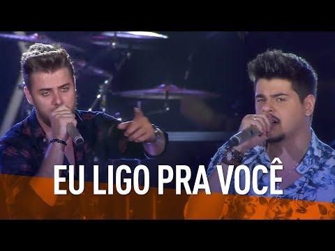 Zé Neto & Cristiano - Eu Ligo Pra Você (DVD Festeja Brasil 2016) [Vídeo Oficial]