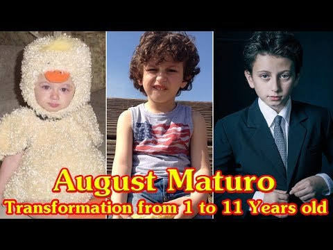 August Maturo transformation from 1 to 11 years old