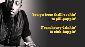 God Is Enough - Lecrae (feat. Flame & Jai) - lyrics on screen