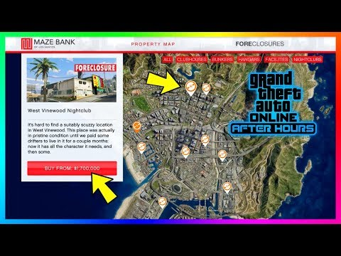 GTA Online After Hours DLC Update Guide: The Best Nightclub Locations - Prices, Upgrades & MORE!