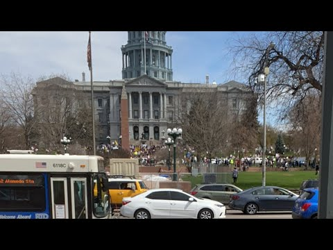 LIVE FROM DENVER CAPITOL OPERATION GRIDLOCK PROTEST