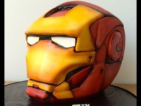 Marvel's Iron Man Custom Cake